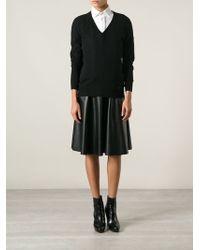 Gucci Black Knit Sweater - Lyst