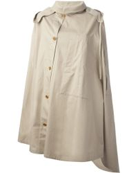 Christophe Lemaire - Caped Trench Coat - Lyst