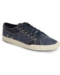 G.H.BASS - 'holton' Leather & Canvas Sneaker - Lyst