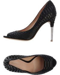Sigerson Morrison Pumps with Open Toe - Lyst
