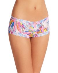 Hanky Panky Colorburst Boyshort multicolor - Lyst