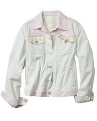 Gap Colorblock Denim Jacket - Lyst