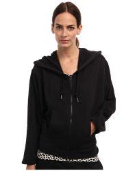 Adidas By Stella Mccartney Essential Zip Hoodie - Lyst