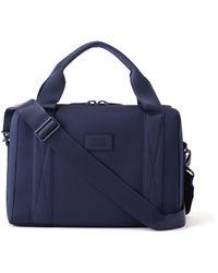 Dagne Dover Weston Laptop Bag In Storm, Medium - Blue