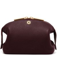 Dagne Dover - Lola Pouch - Oxblood - Large - Lyst