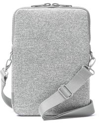 Dagne Dover Laptop Sleeve In Heather Gray, 12-inch