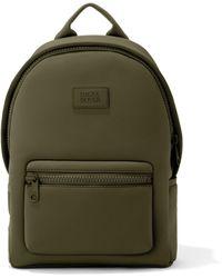 Dagne Dover Dakota Backpack In Dark Moss, Medium - Green