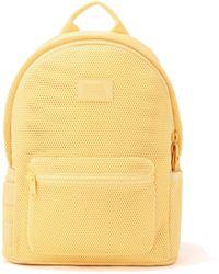 Dagne Dover Dakota Backpack In Pollen Air Mesh, Large - Yellow