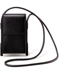 Dagne Dover Piper Phone Sling In Onyx - Black