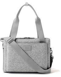 Dagne Dover Ryan Laptop Bag In Heather Gray, Medium