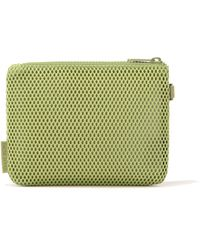 Dagne Dover Parker Pouch In Lime, Small - Green