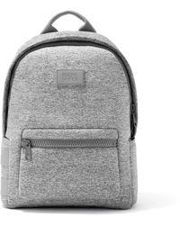 Dagne Dover Dakota Backpack In Heather Gray, Medium