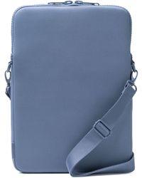 Dagne Dover Laptop Sleeve In Ash Blue, 15-inch