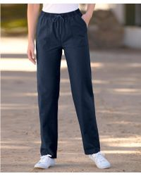 DAMART Rugby Trousers - Blue