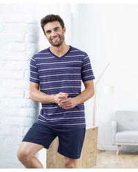 DAMART Short Pyjamas - Blue