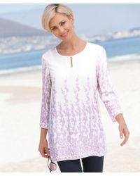 50eec80088 Wallis Rust Linen Look Shirt - Lyst