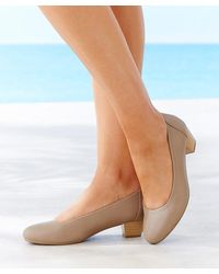 DAMART Court Shoe - Natural
