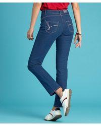 DAMART High-rise Perfect Fit Jeans - Blue