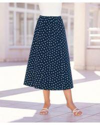 DAMART Jersey Skirt - Blue