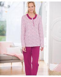 DAMART - Long Sleeved Pyjamas - Lyst