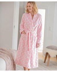 DAMART Fleece Gown - Pink