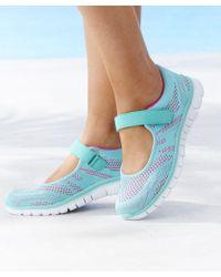 DAMART Cushion Walk Shoe - Blue