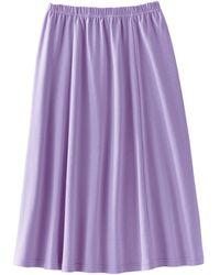 DAMART Jersey Skirt - Purple