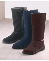 DAMART Samitex Zip Up Thermal Winter Boots - Multicolour