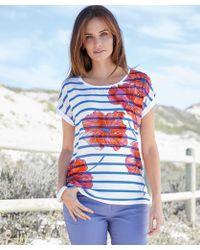 DAMART - Print T-shirt - Lyst