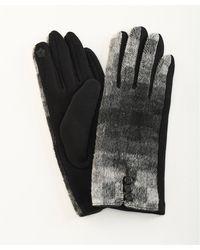 DAMART Colourblock Gloves - Gray