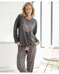 DAMART Thermolactyl Pyjamas - Grey