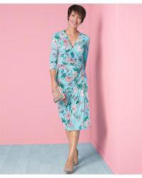DAMART - Printed Dress - Lyst