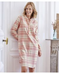 DAMART Long Sleeved Nightdress - Multicolour
