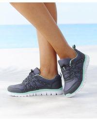 DAMART Cushion Walk Trainers - Blue