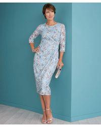 DAMART - Printed Lace Dress - Lyst