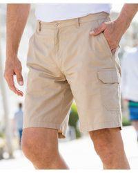 DAMART Elasticated Shorts - Natural