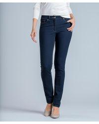 DAMART Slim-leg Perfect Fit Jeans - Blue