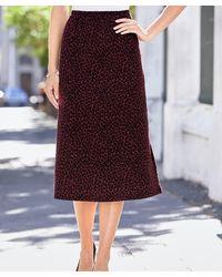 DAMART Jacquard Skirt - Multicolour