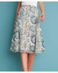 DAMART - Printed Skirt - Lyst
