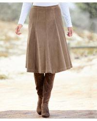 DAMART Cord Skirt - Multicolour