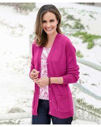 DAMART Soft Easy-care Cardigan - Pink