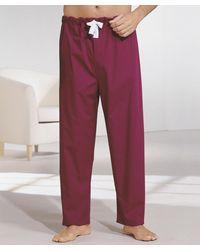 DAMART Pack Of 2 Pyjama Bottoms - Red