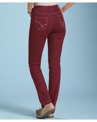 DAMART Perfect Fit Jeans - Red