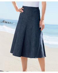 DAMART Denim Skirt - Blue