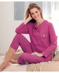 DAMART Cotton Pyjamas - Purple