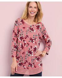 DAMART Printed Tunic - Pink
