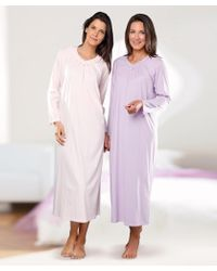 DAMART - Pack Of 2 Nightdresses - Lyst