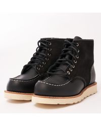 "Red Wing Limited Edition 8818 6"" Classic Moc Toe Boot - Black"