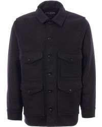 Mackinaw Wool Cruiser Jacket - Black