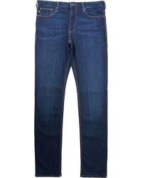 Emporio Armani J06 Slim Fit Denim Jeans - Blue